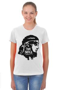 Футболка Тэйм Импала Девушка | Tame Impala Girl