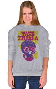 Свитшот Тэйм Импала Череп | Tame Impala Skull