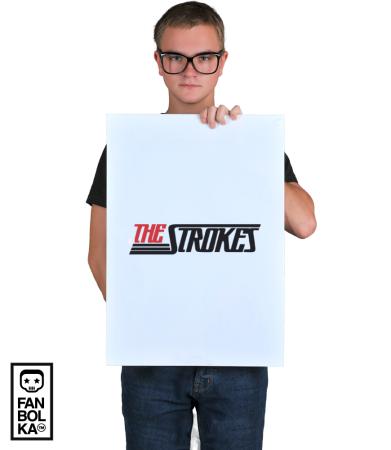 Постер Зе Строукс Лого  | The Strokes Logo