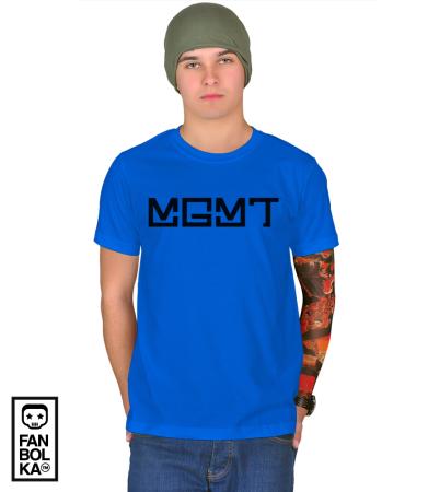 Футболка Эм Джи Эм Ти Лого   MGMT Logo