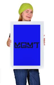 Постер Эм Джи Эм Ти Лого | MGMT Logo