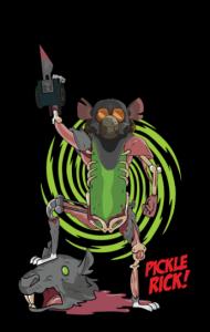 Постер Огурчик - Гроза Крыс! | Pickle - Danger of Rats!