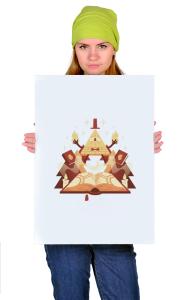 Постер Билл Шифр   Bill Cipher