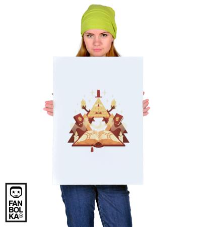 Постер Билл Шифр | Bill Cipher