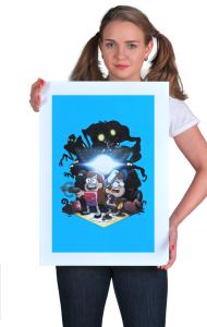 Постер Диппер и Мэйбл | Dipper and Mabel