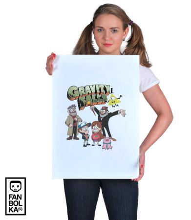 Постер Гравити Фолз