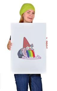 Постер Радужный Гном | Rainbow Gnom