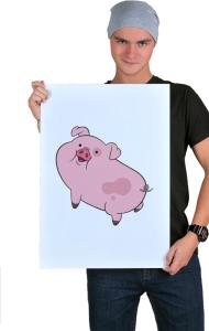 Постер Пухля | Waddles