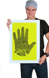 Постер Рука Тэйм Импала | Tame impala Hand