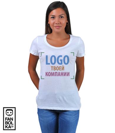 Футболка Лого твоей компании | Your company logo