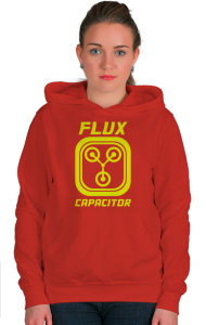 Худи Конденсатор Потока | Flux Capacitor