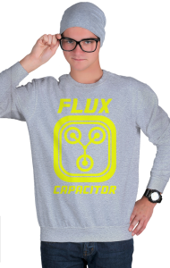 Свитшот Конденсатор Потока | Flux Capacitor