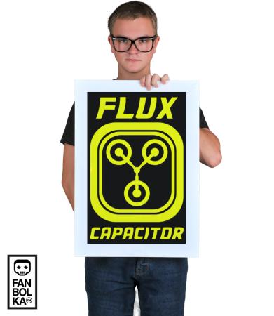 Постер Конденсатор Потока | Flux Capacitor
