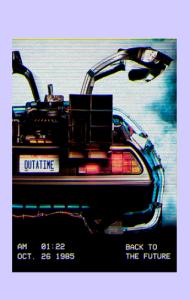 Постер Назад в Будущее | Back to the Future