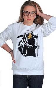 Свитшот Бэнкси Жнец | Banksy Reaper