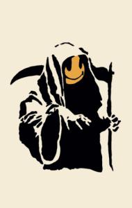Постер Бэнкси Жнец | Banksy Reaper