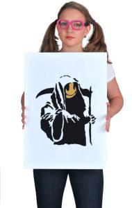 Постер Бэнкси Жнец   Banksy Reaper