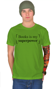 Футболка Книги моя Суперсила| Books is my Superpower