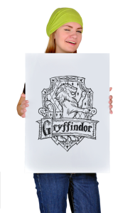 Постер Гриффиндор Герб | Griffindor Arms