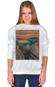 Свитшот Мунк. Крик | Munch. The Scream