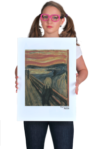 Постер Мунк. Крик   Munch. The Scream