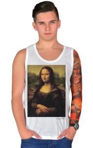 Футболка Да Винчи. Мона Лиза | Da Vinci. Mona Lisa