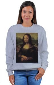 Свитшот Да Винчи. Мона Лиза | Da Vinci. Mona Lisa