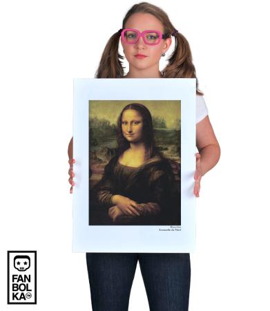 Постер Да Винчи. Мона Лиза | Da Vinci. Mona Lisa